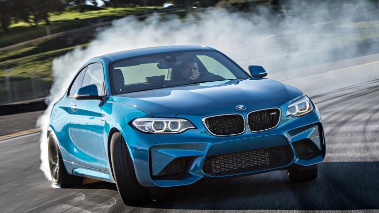 BMW M2 en circuito