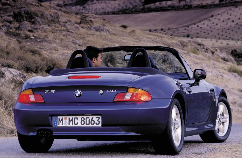 BMW Z3 parte trasera