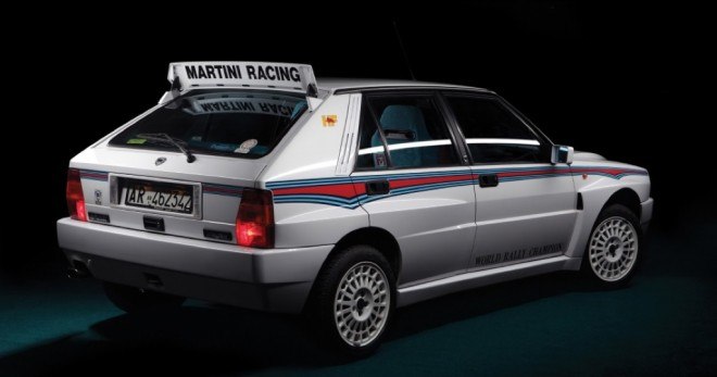 Lancia delta HF Integrale con solo 50 km subastado con un precio de salida de 130000 euros
