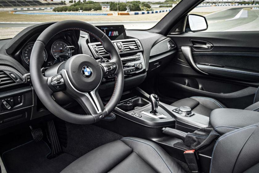 BMW M2 Habitáculo