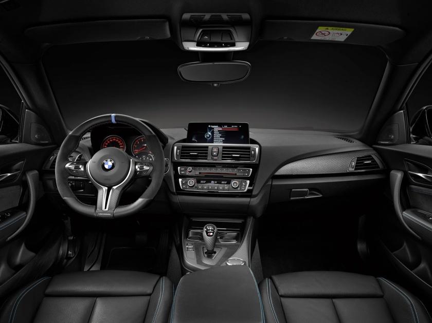 BMW M2 salpicadero y cuadro de mandos