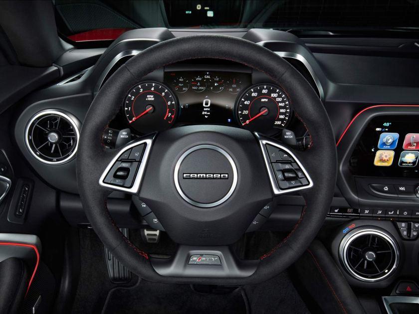 Chevrolet Camaro ZL1 cuadro de instrumentos
