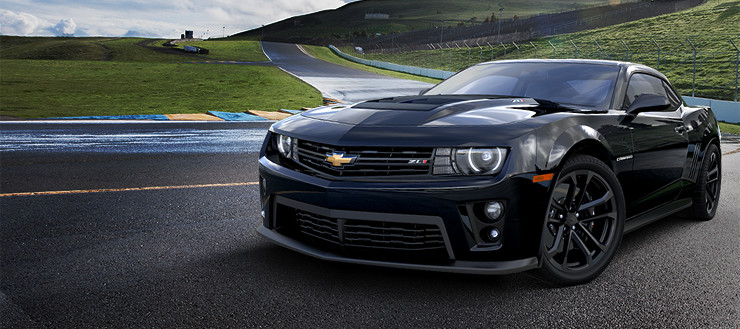 Chevrolet Camaro ZL1 black