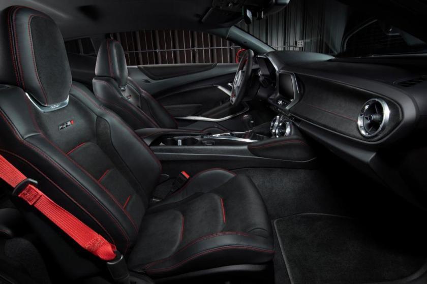 Chevrolet Camaro ZL1 habitaculo
