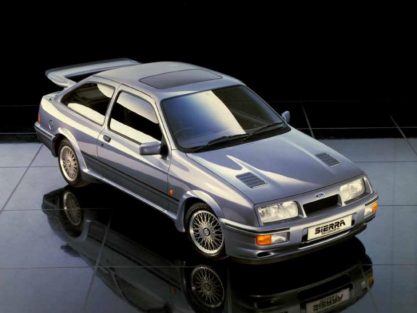 Ford Sierra Cosworth hoy día se cotizan por encima de los 50000 euros