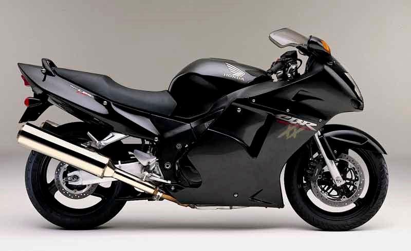 Honda CBR 1100 XX vista lateral