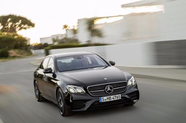 Mercedes clase e 2016 frontal