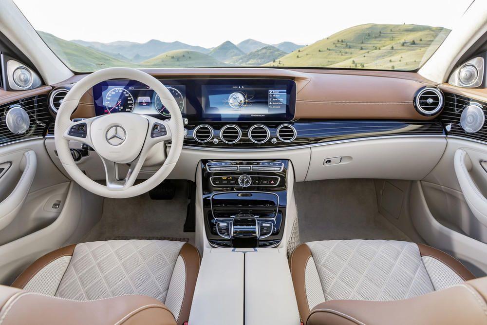 Mercedes clase e 2016 habitáculo
