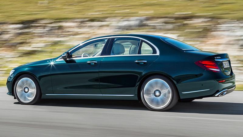 Mercedes clase e 2016 lateral