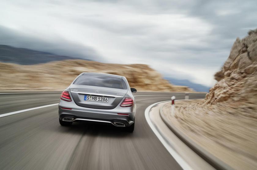 Mercedes clase e 2016 parte trasera