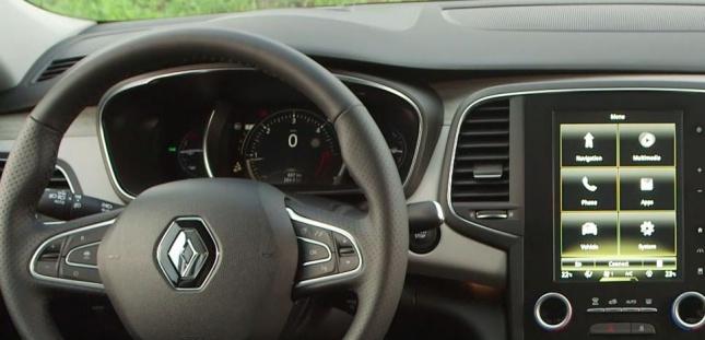 Renault Talisman cuadro de mandos