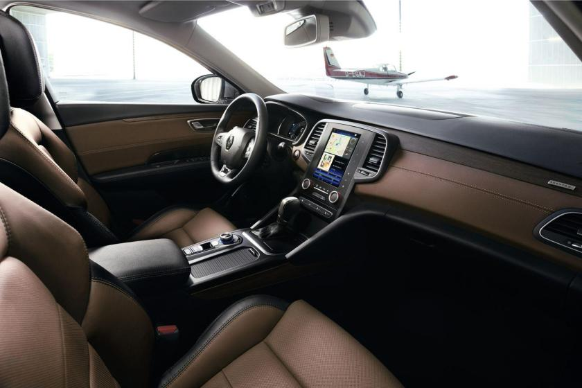 Renault Talisman habitaculo