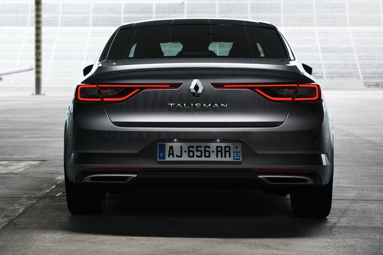 Renault Talisman parte trasera