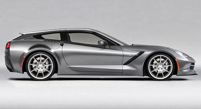 Chevrolet corvette shooting brake Callaway lateral
