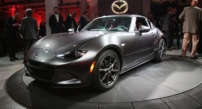 Mazda mx-5 RF presentación salón New York 2016