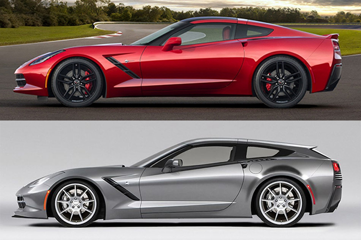 De Chevrolet Corvette Stingray a shooting brake