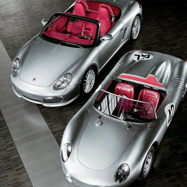 Porsche boxster 718 2016 y el original de 1957/1962
