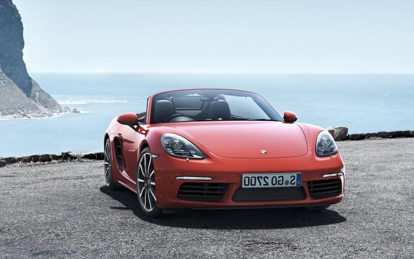 Porsche boxster 718 2016 frontal