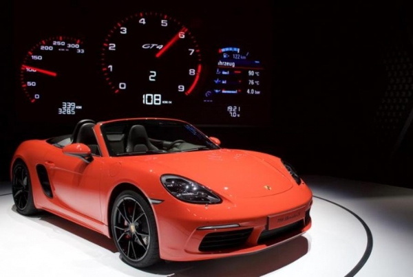 Porsche boxster 718 2016 presentación