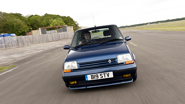 Renault 5 gt turbo frontal