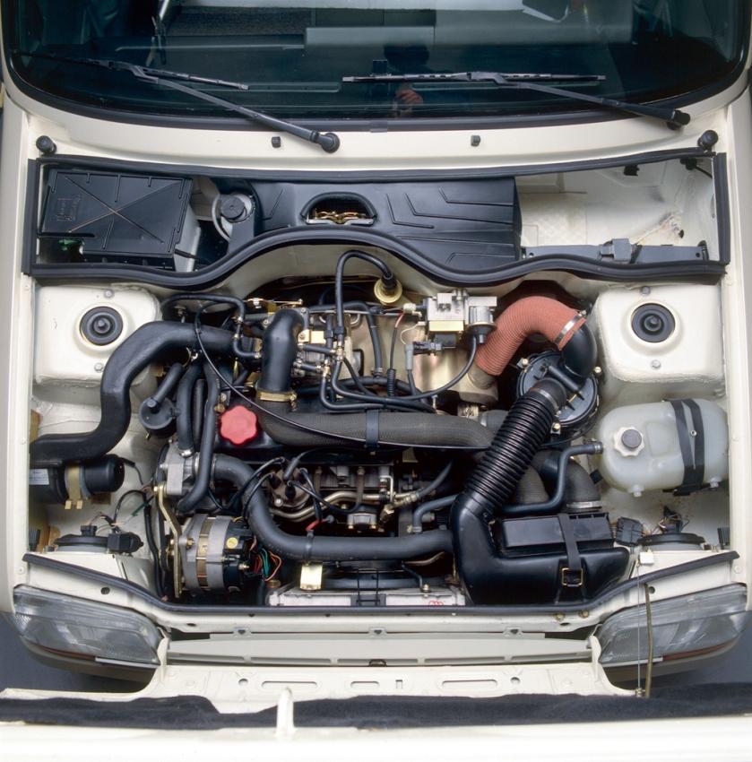 Renault 5 gt turbo motor