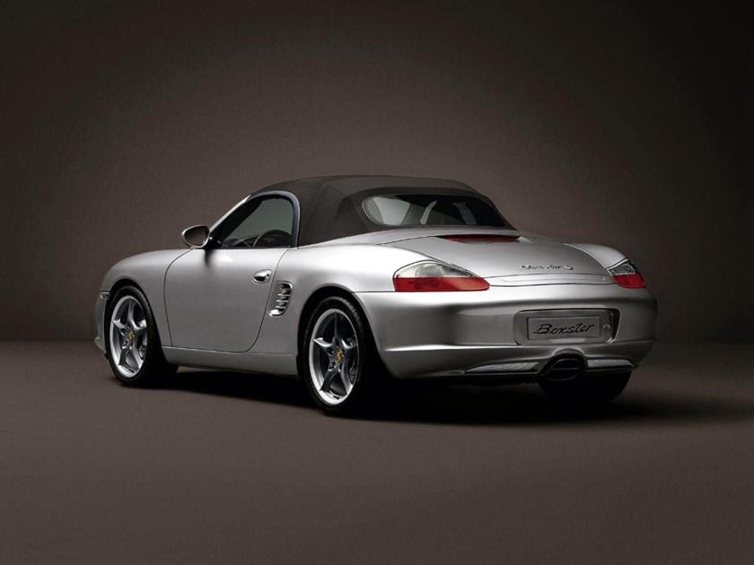 Porsche boxster 986 parte trasera