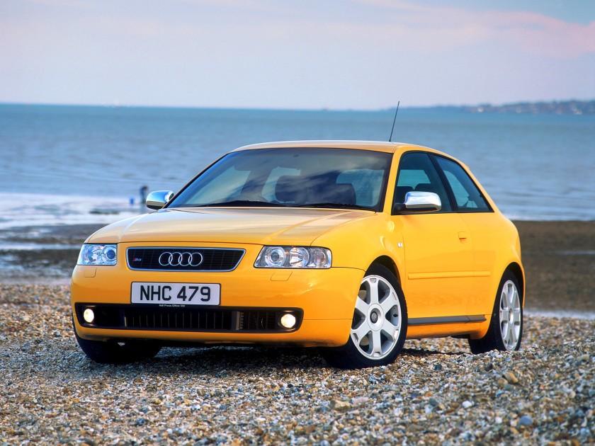 Audi S3 8l frontal
