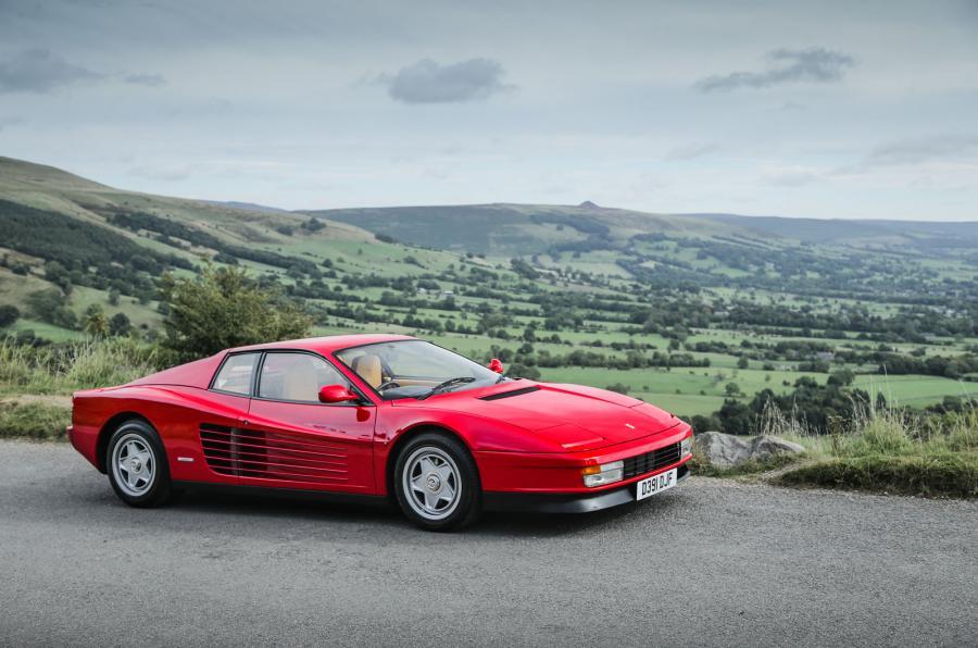 Ferrari Testarossa; Sueños deniñez