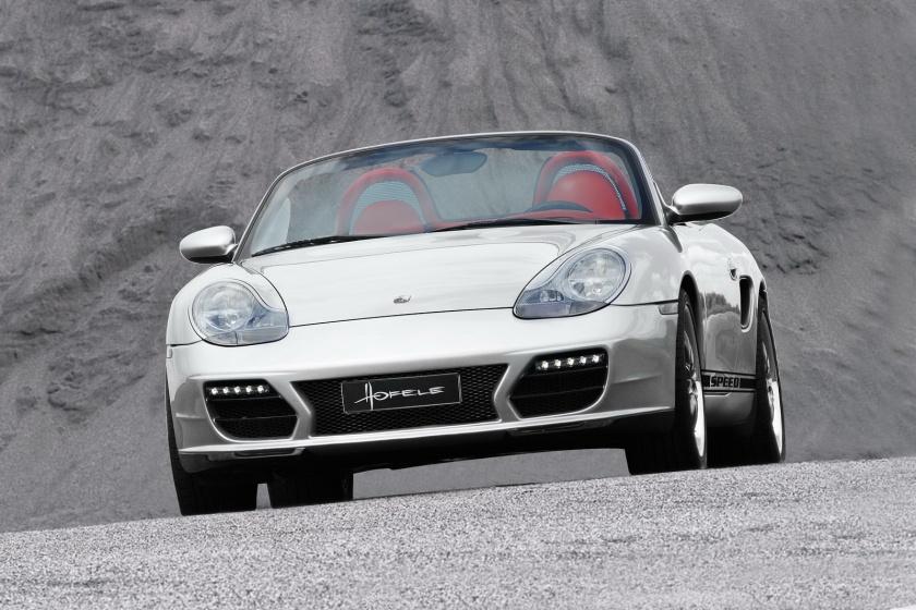 Porsche boxster 986 frontal