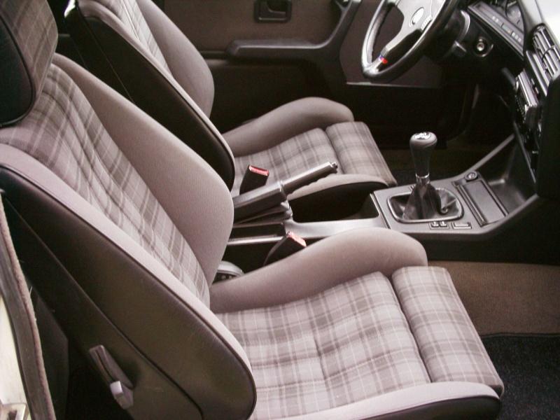 BMW 318 is e30 habitáculo