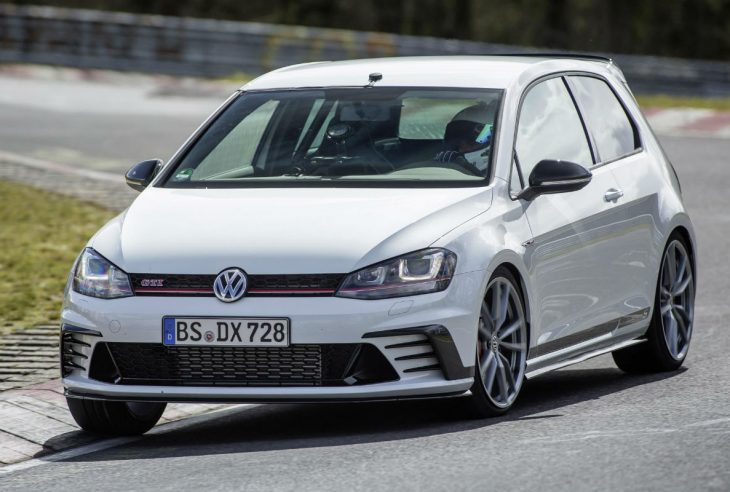 Vw golf clubsport S frontal