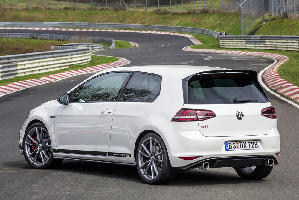 Vw golf clubsport S lateral