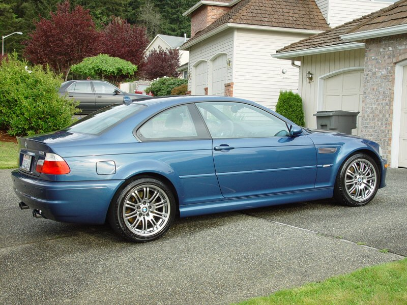 BMW M3 e46 lateral