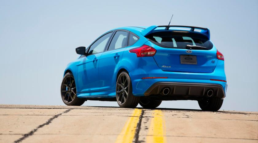 Ford focus rs 2016 parte trasera