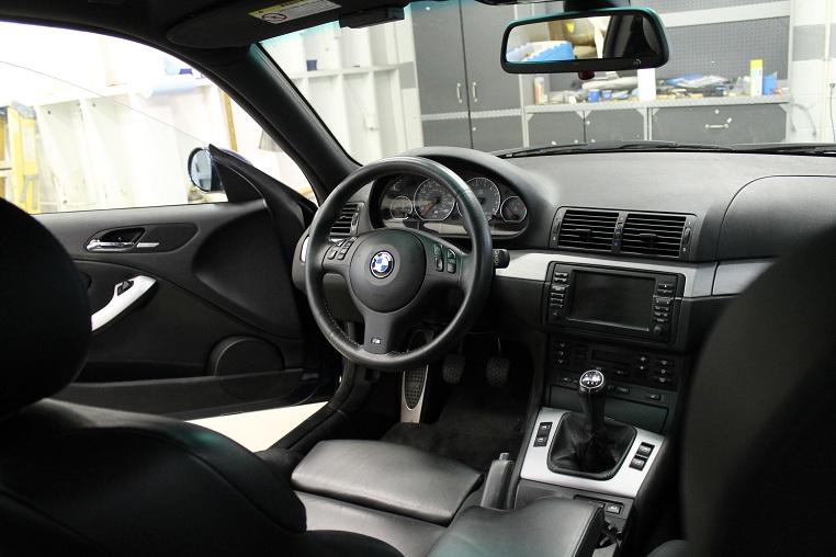 BMW M3 e46 habitáculo