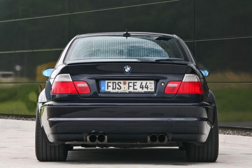 BMW M3 e46 parte trasera