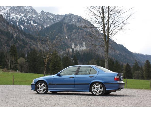BMW serie tres e36 M3 berlina