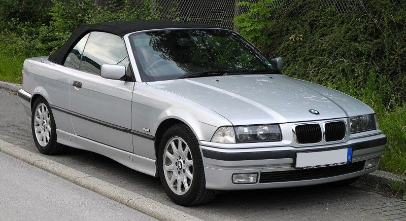 BMW serie tres e36 cabrio