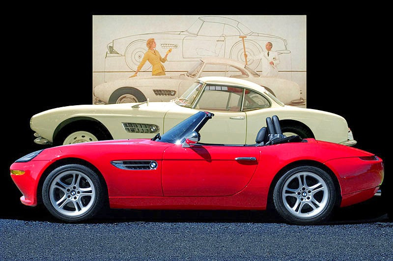 BMW Z8 veinte años depelicula