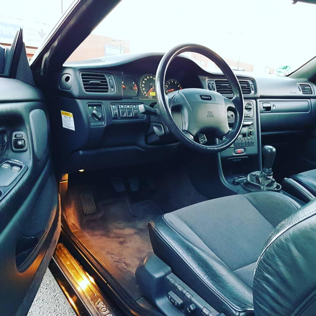 Volvo C70 habitáculo