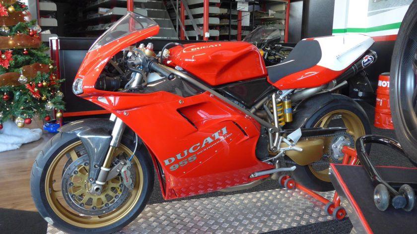 Ducati 955 Edición especial