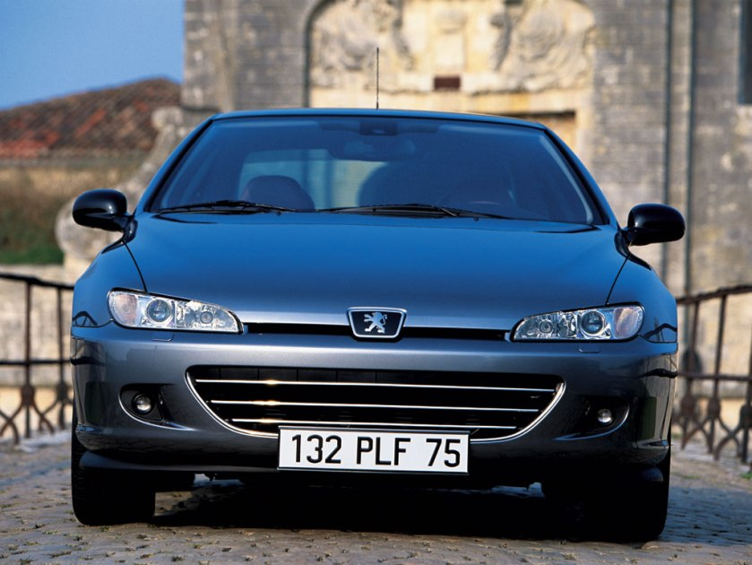 Peugeot 406 coupé restyling