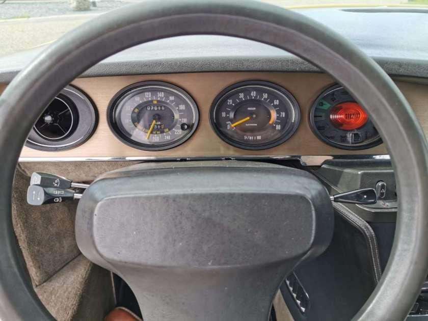 Citroën SM cuadro de mandos