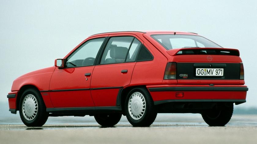 Opel Kadett GSi 16 válvulas 5 puertas