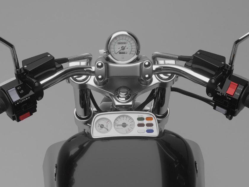 Yamaha VMax cuadro de mandos