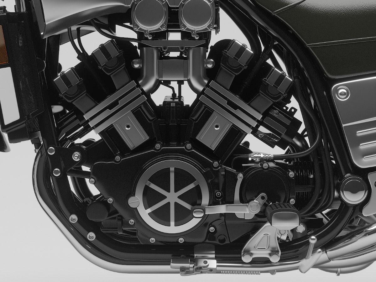 Yamaha VMax motor Vboost