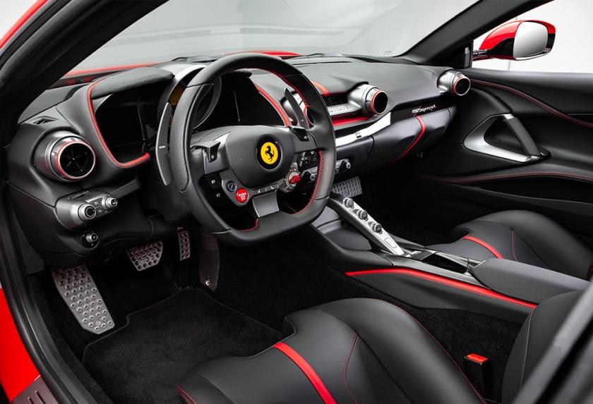 Ferrari 812 Superfast Habitáculo