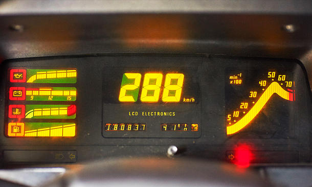 Opel Kadett GSi cuadro digital