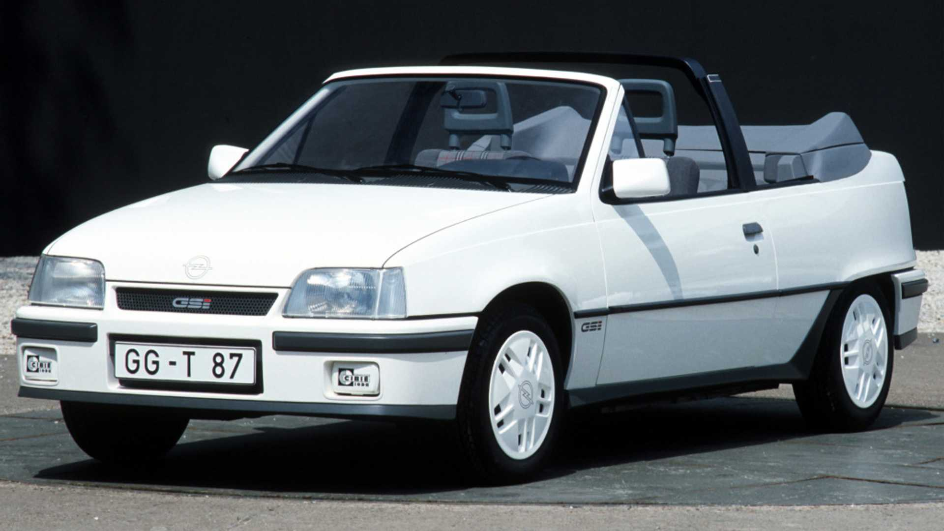 Opel Kadett GSi cabrio
