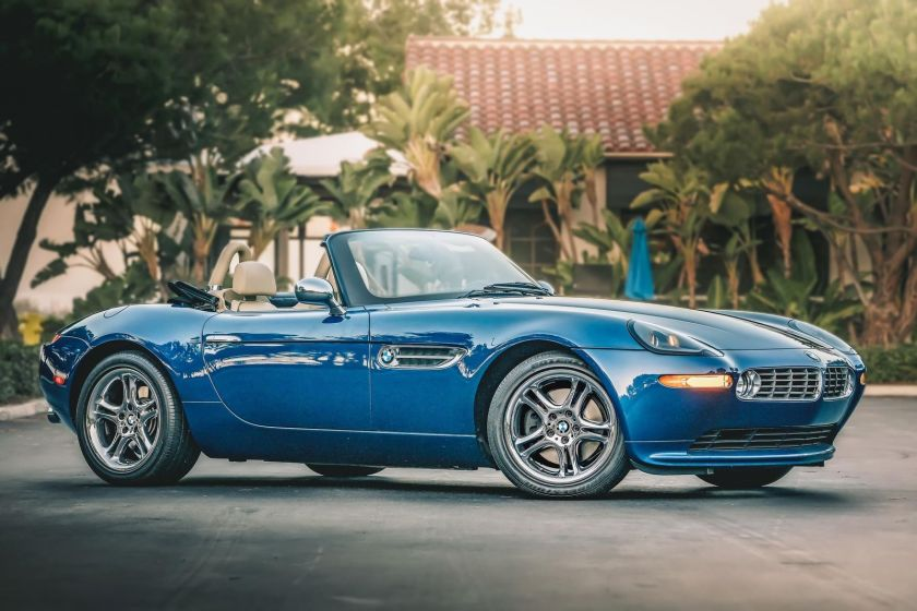 BMW Z8 vista lateral